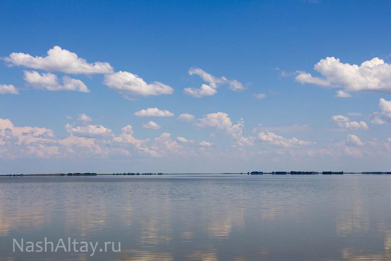 песчаное озеро