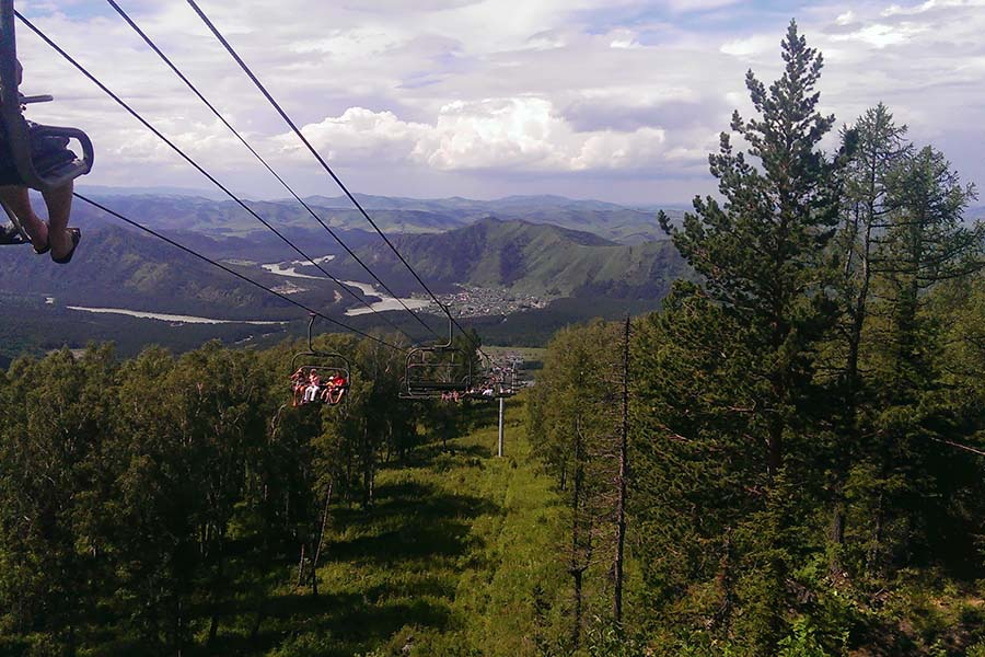 Гора Малая Синюха