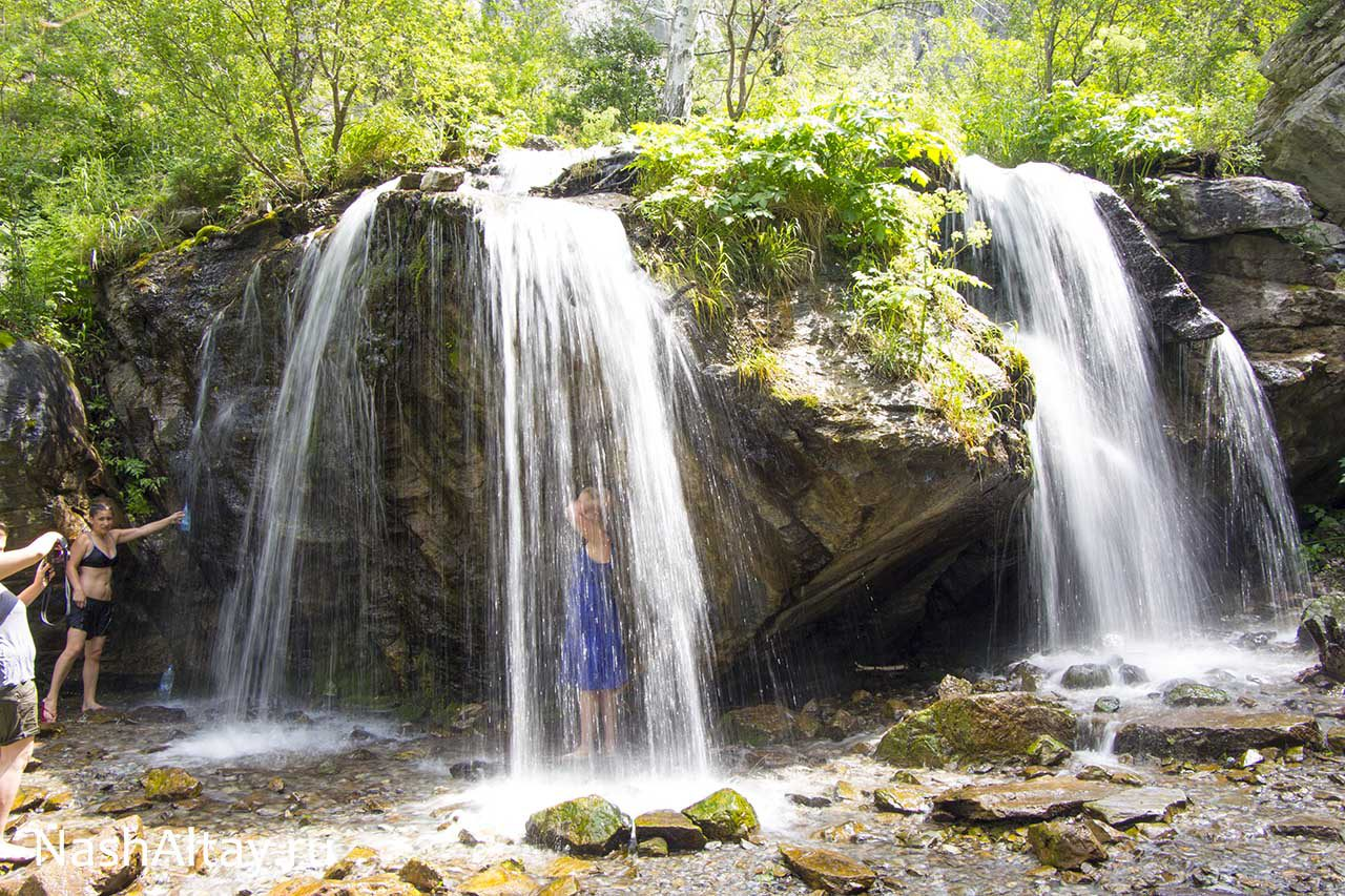 чечкыш водопад