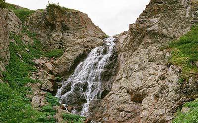 Водопад Кулядын