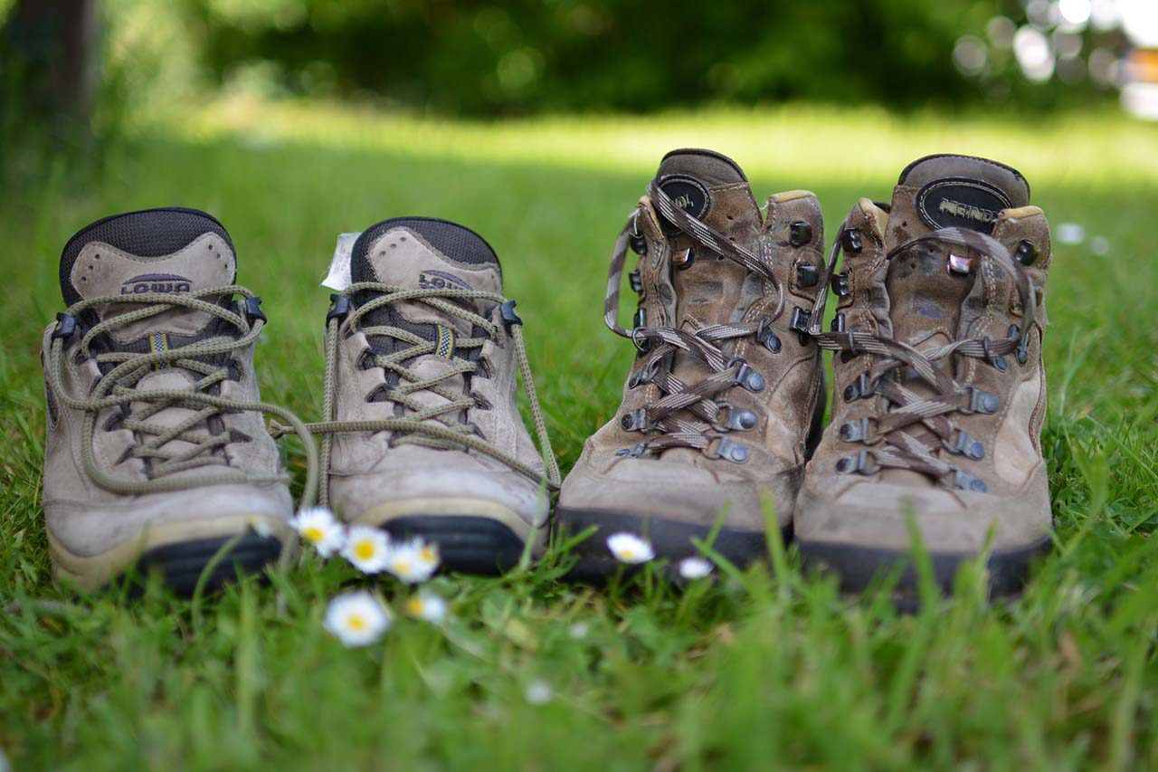 Уход за трекинговой обувью