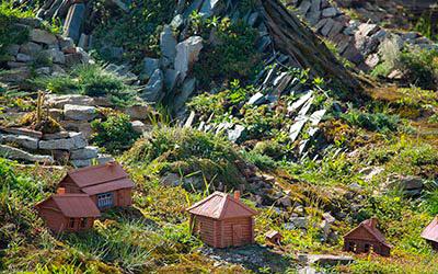 """""""Каменный остров"""" парк миниатюр"""