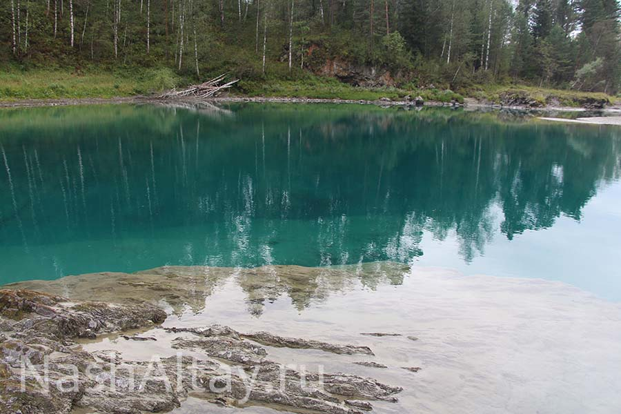 Голубые озера проявились!