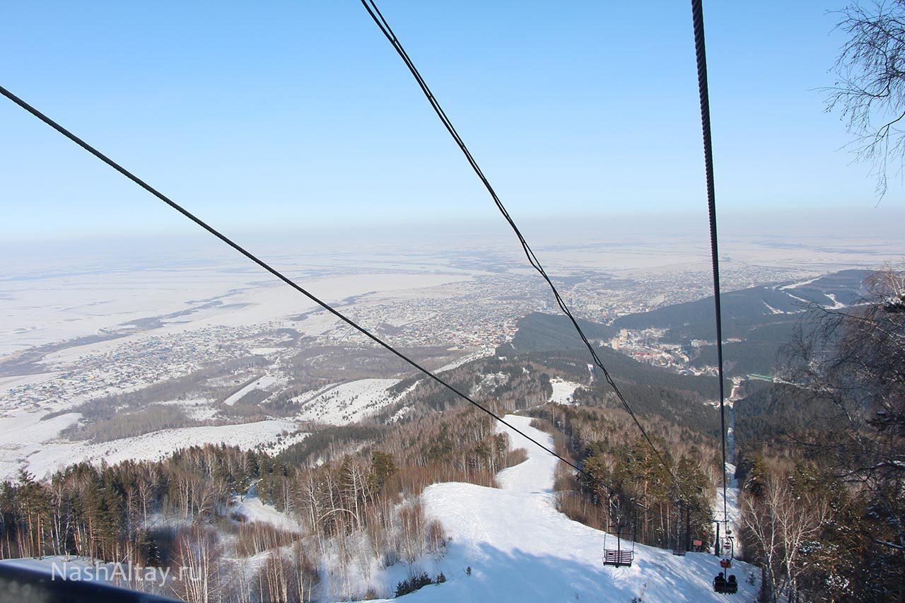 Белокуриха входит в топ 5 горнолыжных курортов