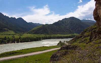 Легенда о реке Катунь и горе Бабырган