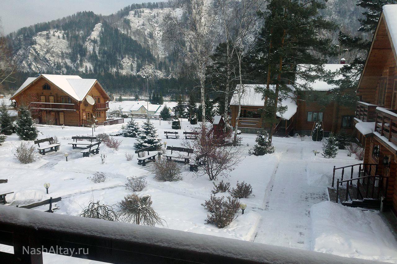 Алтай зимой